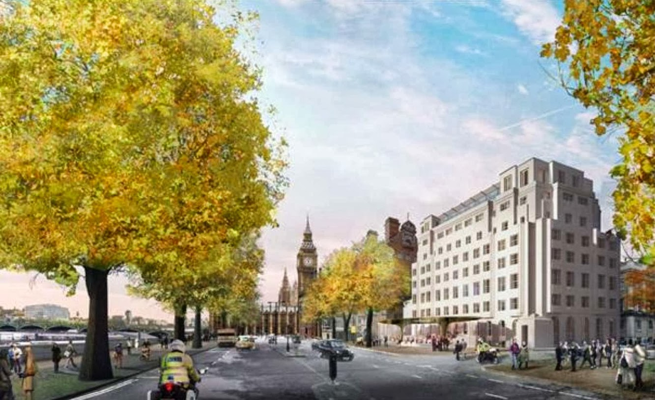 Ahmm Wins New Met Police Hq contest