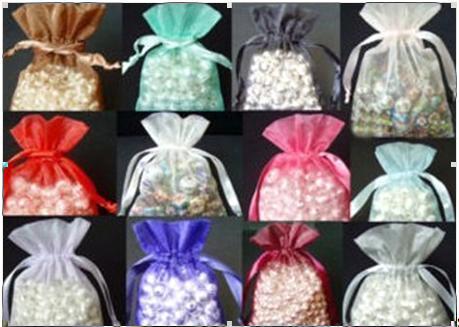 Vendo Sacos Organza (várias cores e tamanhos) Sacos