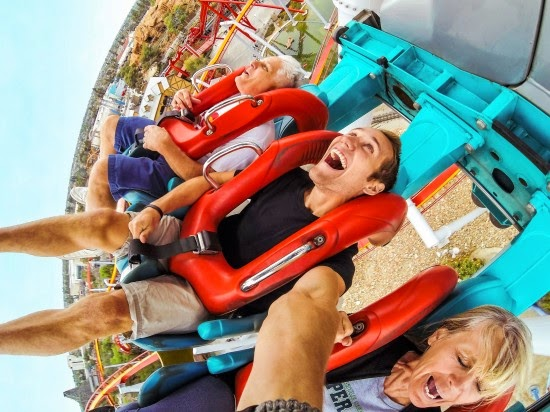 Capture Crazy Roller Coaster Faces with GoPro HERO Cameras #GoProatBestBuy