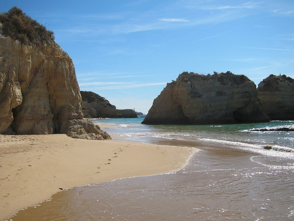 portugal algarve portimao photo of the beautiful beach