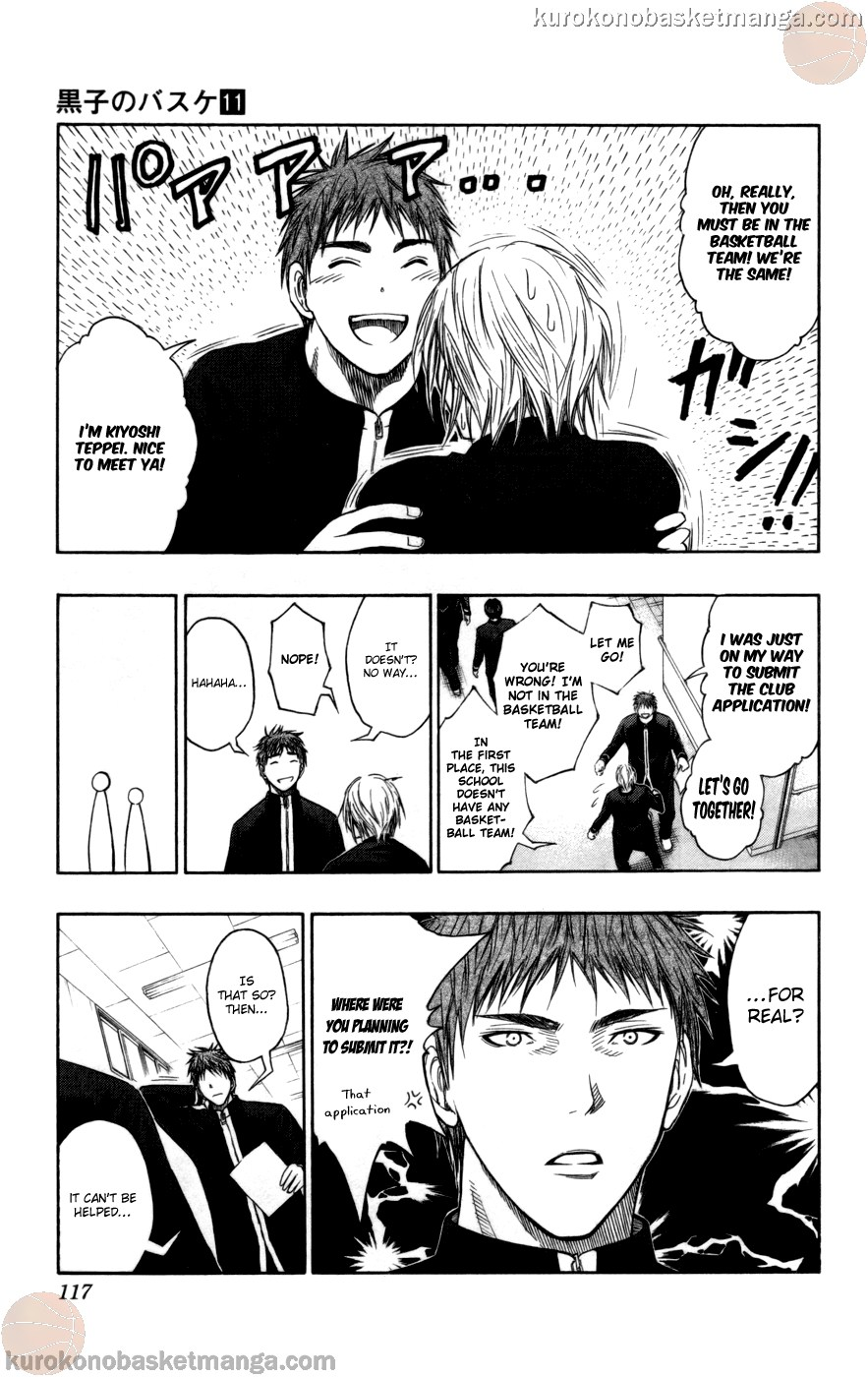 Kuroko no Basket Manga Chapter 95 - Image 13