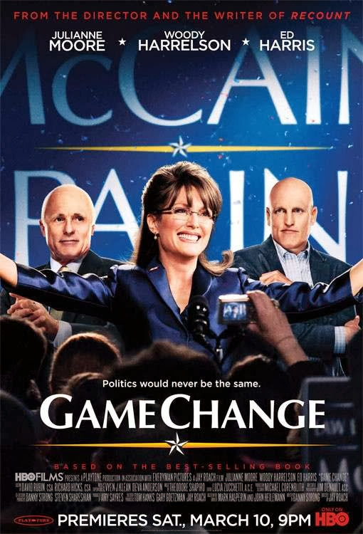 Poster Of Game Change (2012) Full Movie Hindi Dubbed Free Download Watch Online At Alldownloads4u.Com
