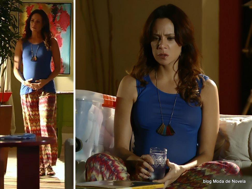moda da novela Em Família - look da Juliana dia 17 de junho