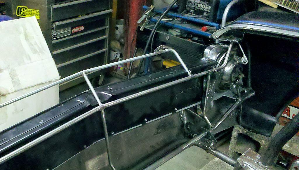nova tubular radiator support ideas