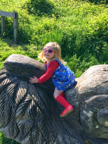 Emma in Bromley - Lullingstone Country Park with Maegan and Blake Clement