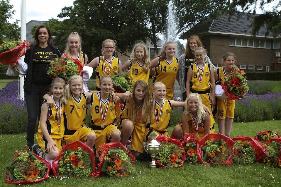 Meisjes onder 12 Nederlands Kampioen