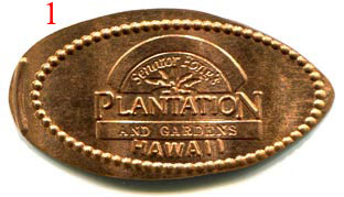 Trade for sale elongated coin hawaii nevada s korea for Senator fong s plantation and gardens