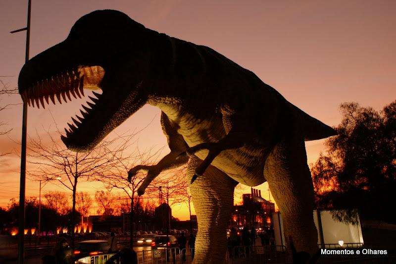 Dinossauros em Lisboa
