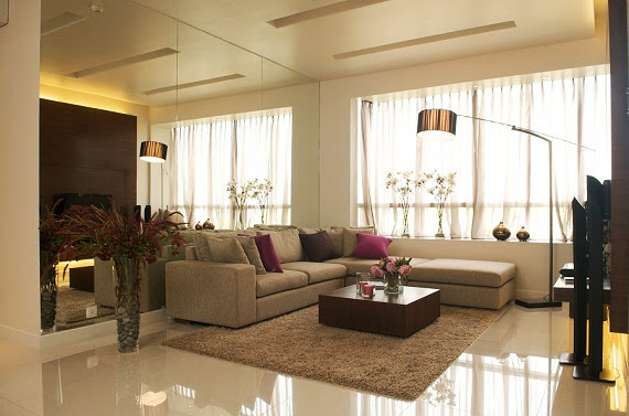 Phòng khách căn hộ Sunrise City Quận 7