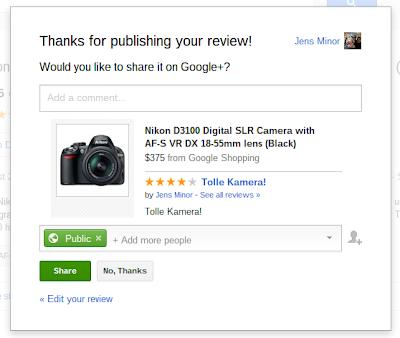 Google Shopping Share