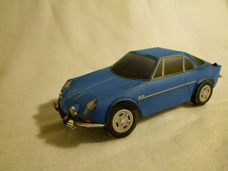 Alpine A110 Papercraft