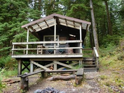 Kegan Creek Cabin Alaska 2012