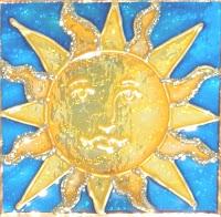 celestial golden sun