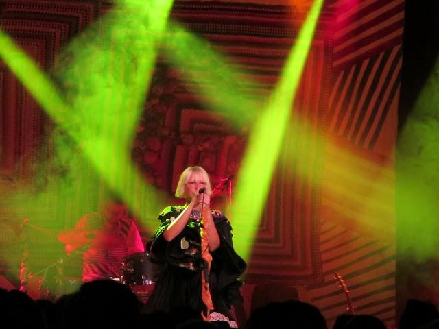 Sia at the Commodore Ballroom