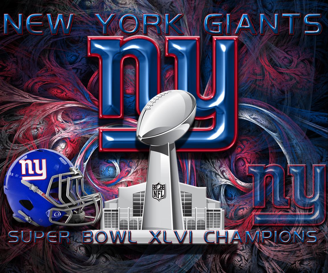 New York Giants Super Bowl XLVI Champions Wallpaper