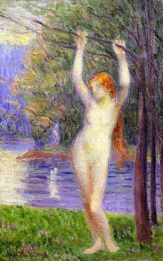 Hippolyte Petitjean - Nude Woman