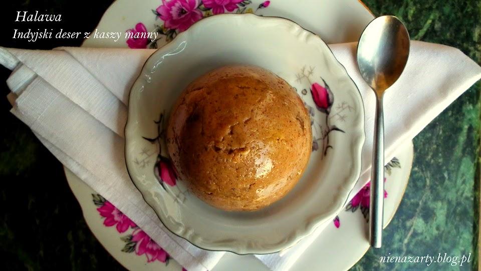 halawa - indyjski deser z kaszy manny