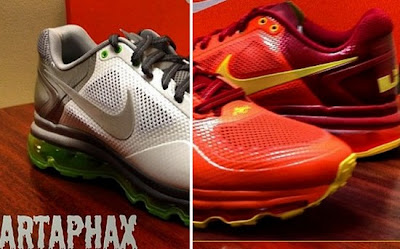lbj pe nike air max trainer 1 3 dunkman 2 0 LBJs Nike Air Trainer 1.3 Max   Miami Heat and Dunkman   PEs