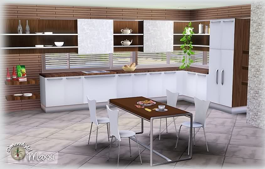 My sims 3 blog maxxi kitchen set part 2 by simcredible for Sims 3 kitchen ideas