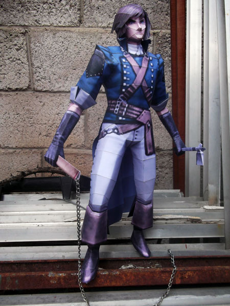 Castlevania Dracula X Papercraft Richter Belmont