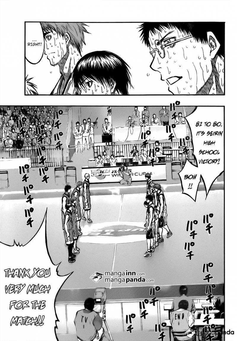 Kuroko no Basket Manga Chapter 203 - Image 09