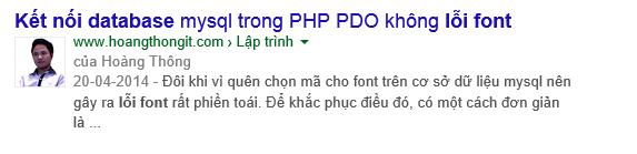 Thiết lập google authorship không lỗi avatar