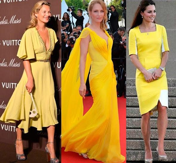 Vestido longo amarelo como usar