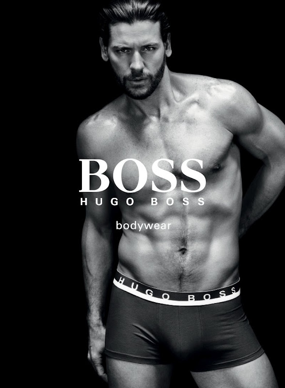 Joshua Button by Christian Anwander for Hugo Boss Black Bodywear, 2011