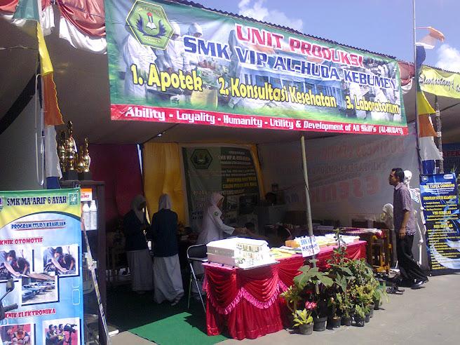 Stand SMK VIP Al Huda Kebumen