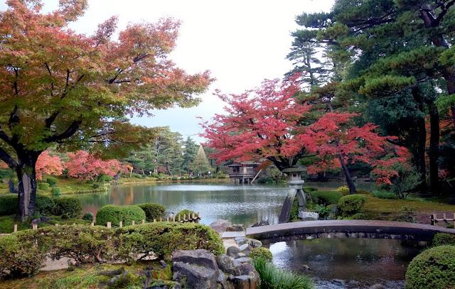 D placer quelques fronti res kanazawa for Jardin kenrokuen en kanazawa