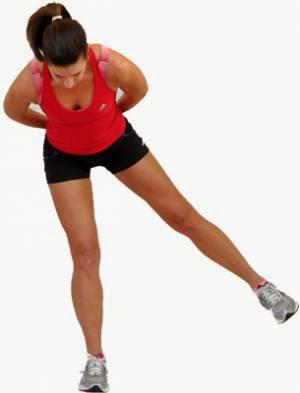 Как быстро похудеть в бедрах