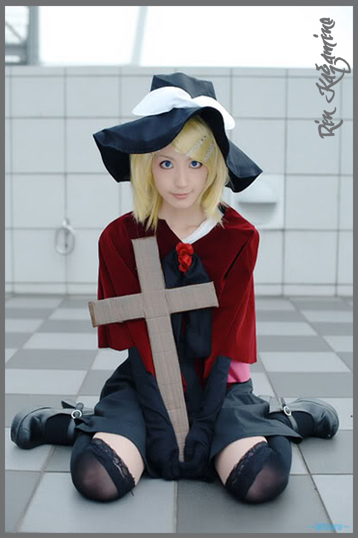 Vocaloid Rin Kagamine Cosplay By Chamaro Cosplay Girls