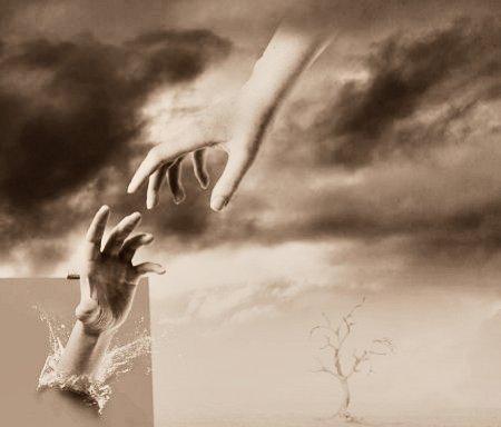 Dievs sniedz palīdzīgu roku