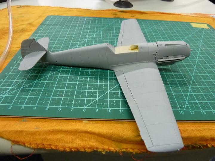 Bf-109 E-3 Tamiya 1/48 - Reforma pintura P1020452