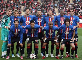 Atletico Spanish League 2011