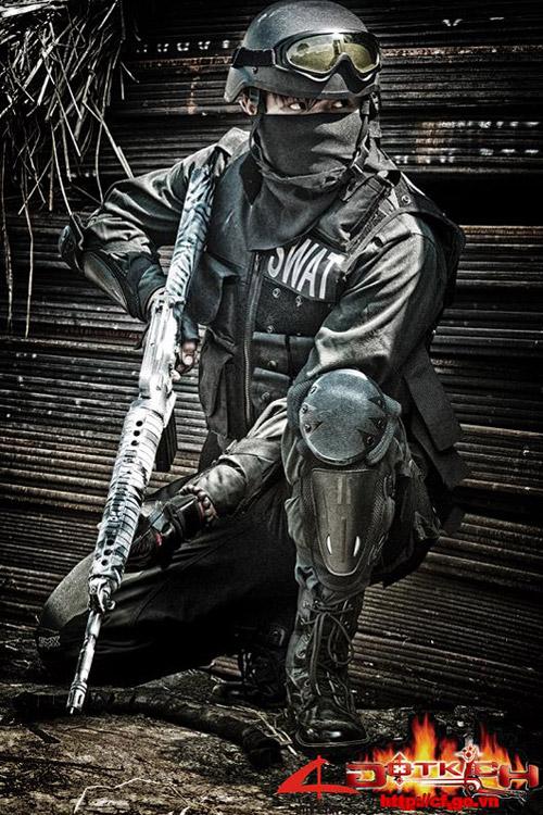 Game thủ Việt tung ảnh cosplay về Đột Kích 6