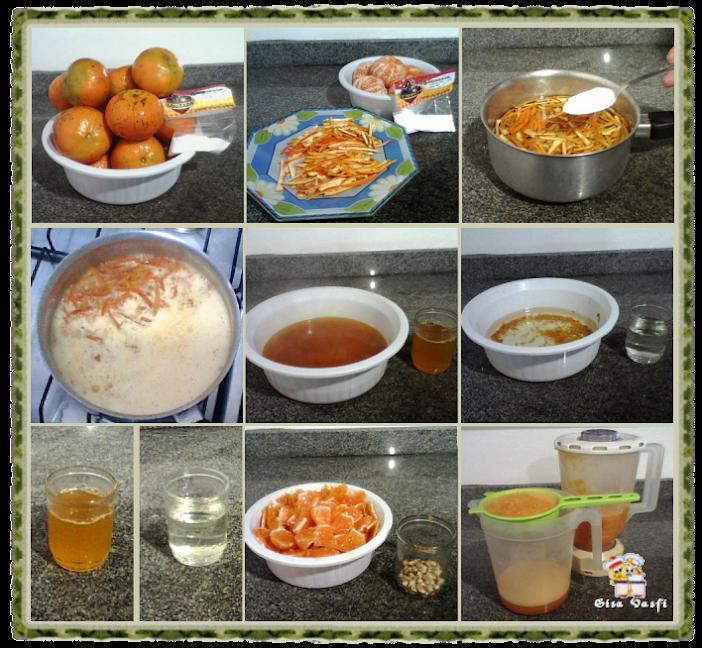 Bolo cremoso de tangerina 3