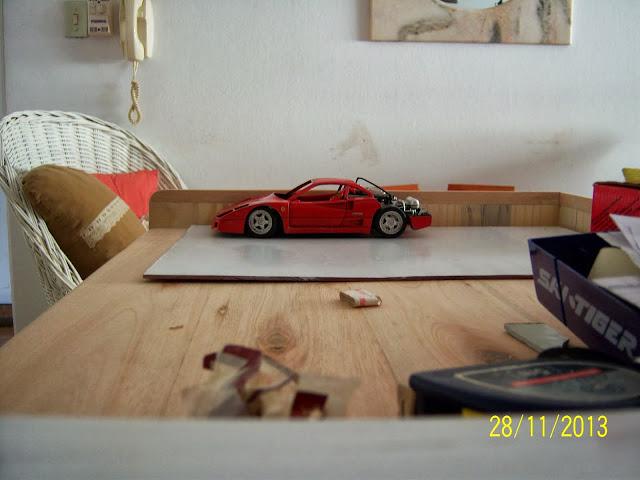 Ferrari F40 diecast 100_2932
