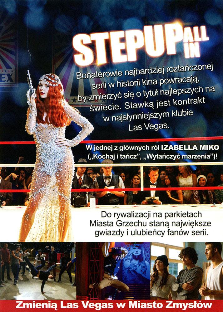 Ulotka filmu 'Step Up: All In (tył)'