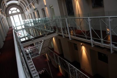 Prison wing in the Malmaison Hotel in Oxford