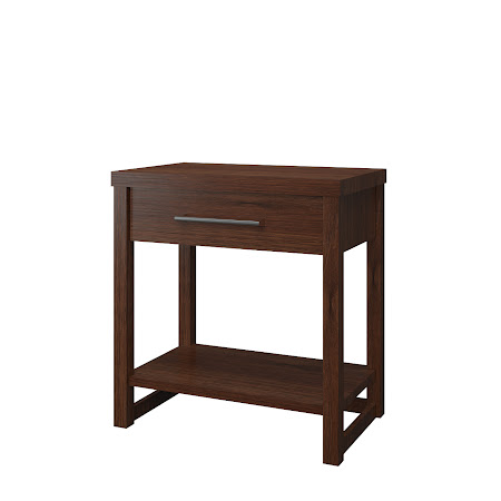 Matching Furniture Piece: Sumatra Nightstand with Shelf, Temperance Walnut