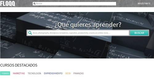 Floqq, una plataforma con cursos en video para emprendedores