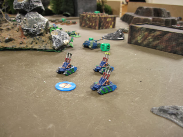 And more, guarding the left flank.