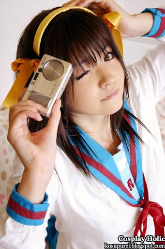 the melancholy of suzumiya haruhi cosplay - suzumiya haruhi