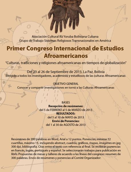 Estudios Afroamericanos - Bolivia