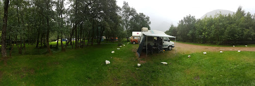 Red Squirrel Campsite Glencoe Scotland at Red Squirrel Campsite Glencoe Scotland