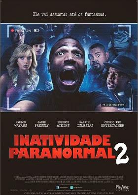 Filme Poster Inatividade Paranormal 2 TS XviD & RMVB Dublado