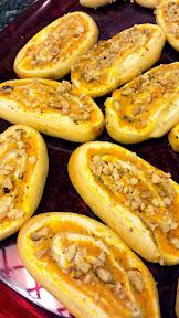 Squash Cheese Pinwheels