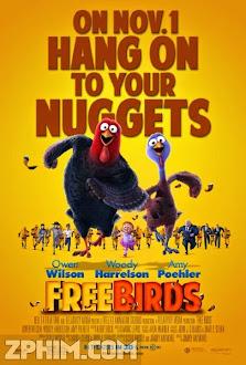 Giải Cứu Gà Tây - Free Birds (2013) Poster