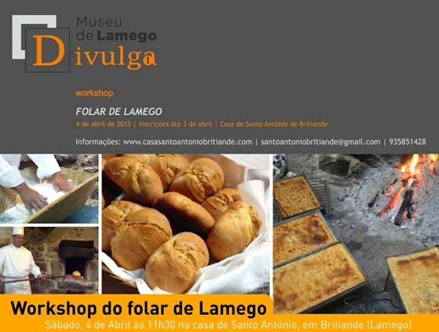 Workshop - Folar de Lamego - 4 de Abril